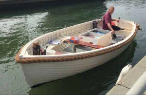 bateau à moteur électrique The Gull