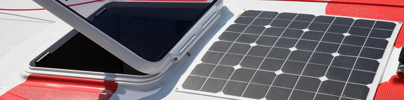 bateau : bien choisir ses panneaux solaires