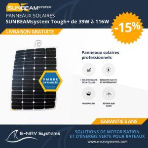 panneau solaire Sunbeamsystems Tough+ pour bateau