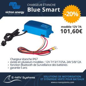 chargeur étanche Victron Energy Blue Smart pour bateau