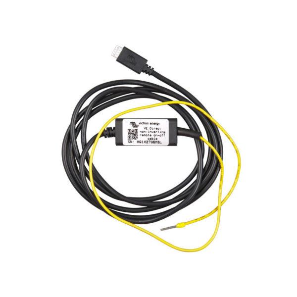 Câble VE.Direct non inverseur d'allumage/arrêt à distance