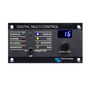 Panneau digital de contrôle