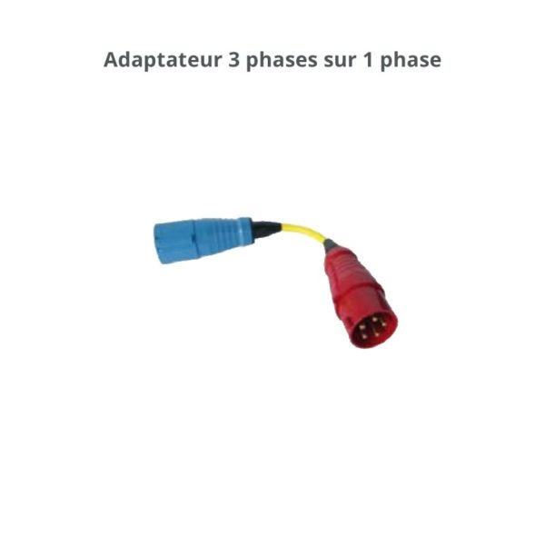 Adaptateur 3 phases sur 1 phase