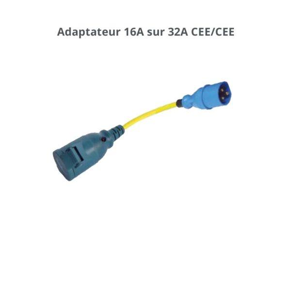 adaptateur 32A CEE CEE